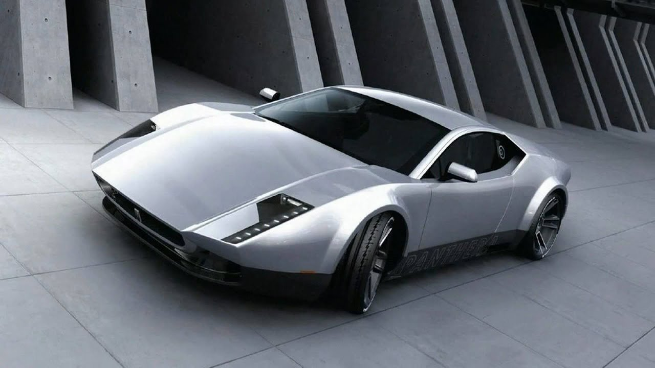 Latest 2011 De Tomaso Pantera Concept Youtube Free Download