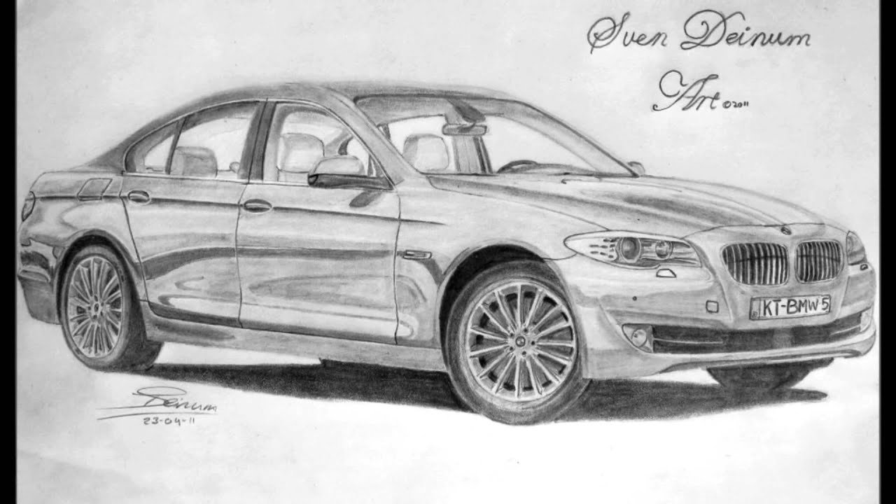 Latest Bmw 5 Series Drawing Youtube Free Download