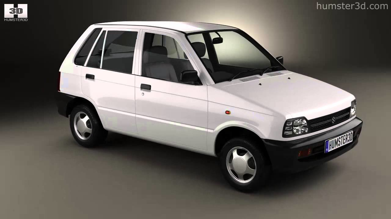 Latest Suzuki Maruti 800 1986 By 3D Model Store Hum3D Com Youtube Free Download