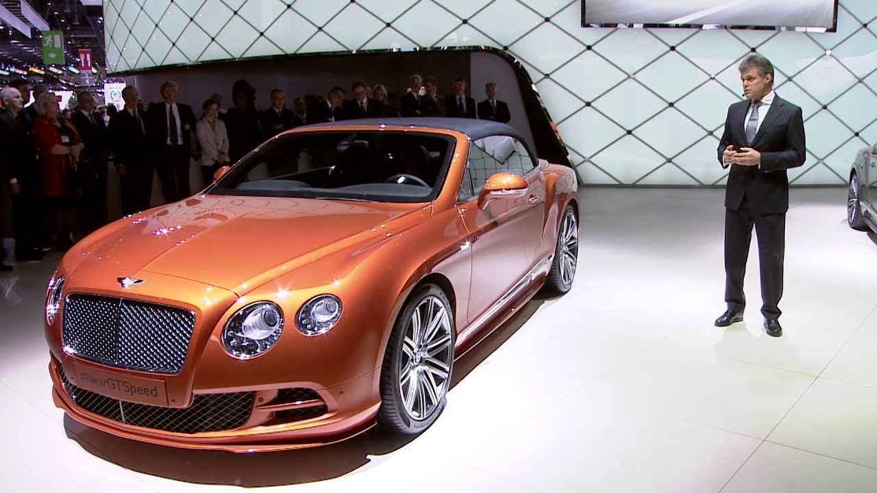 Latest Bentley Press Conference At 2014 Geneva Auto Show Free Download