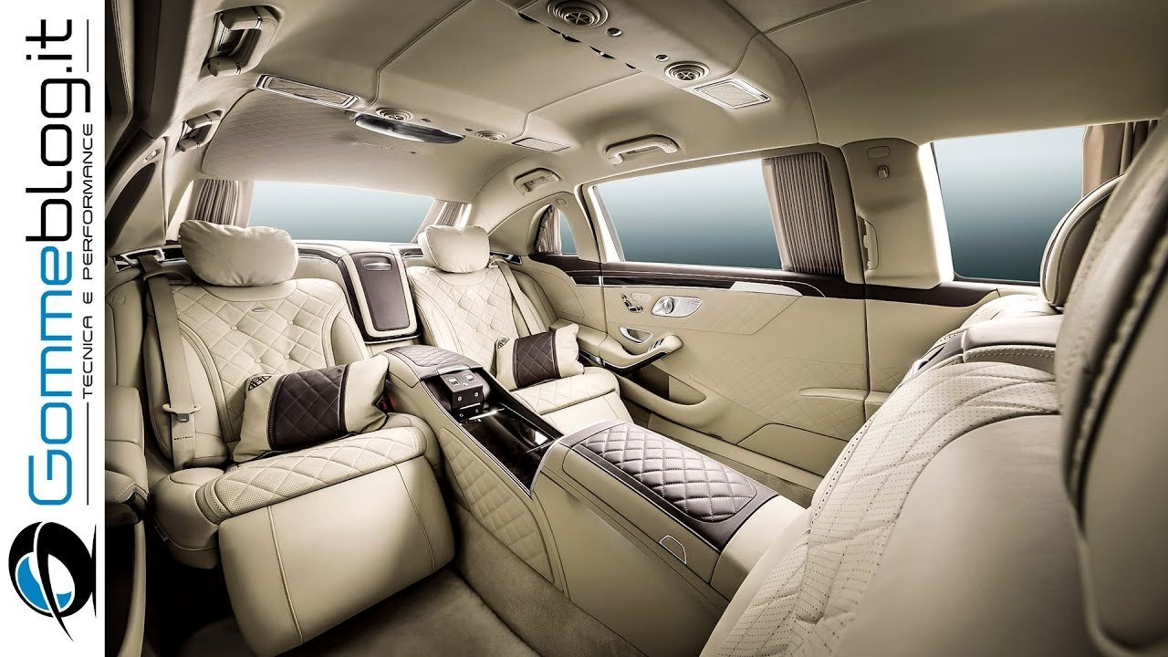 Latest Mercedes Maybach S600 Pullman Interior Review Top Luxury Free Download
