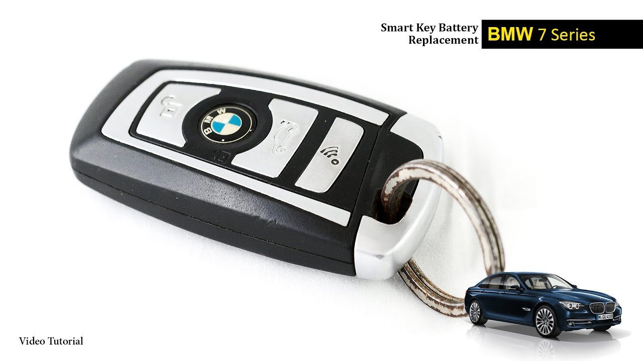Latest Bmw 7 Series Smart Key Battery Change Youtube Free Download