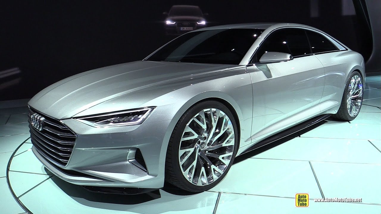 Latest 2016 Audi A9 Prologue Concept Exterior Walkaround 2014 Free Download