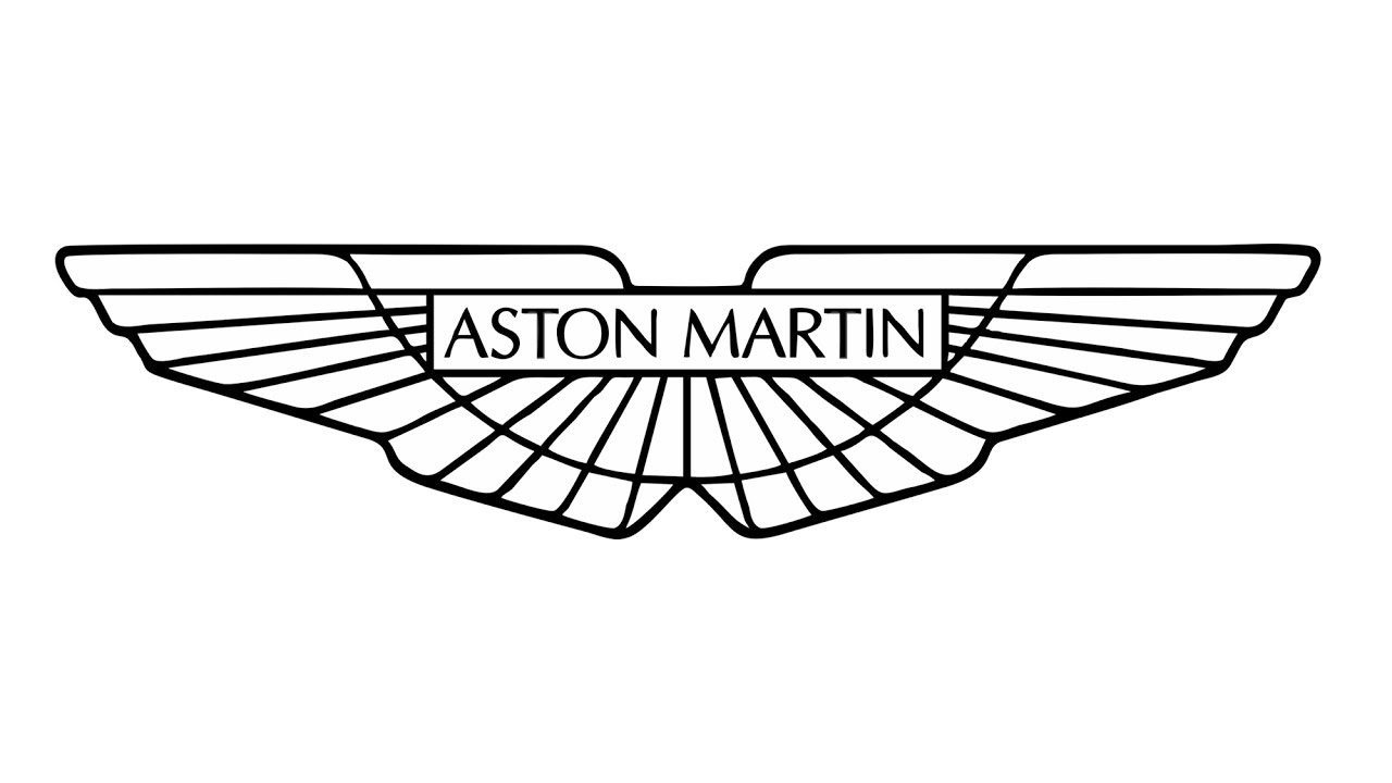 Latest How To Draw The Aston Martin Logo Symbol Youtube Free Download