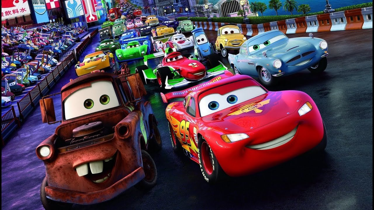 Latest Disney Pixar Cars 2 Racers Collection All Cars Long Video Free Download Original 1024 x 768