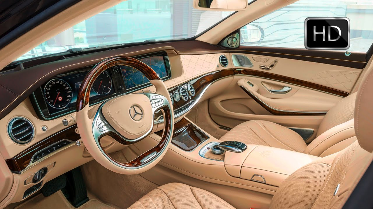 Latest 2016 Mercedes Maybach S600 Luxury Car Interior Design Hd Free Download