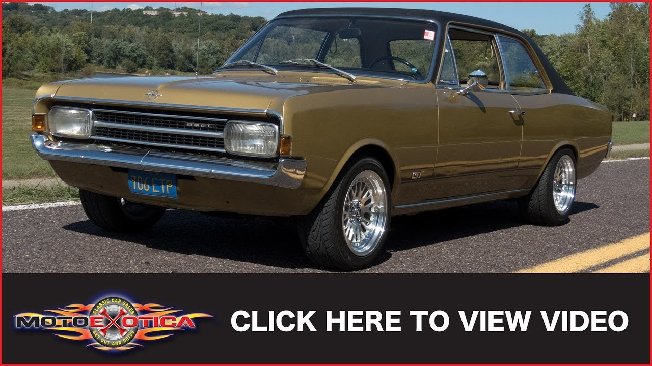 Latest 1970 Opel Rekord Sold Youtube Free Download