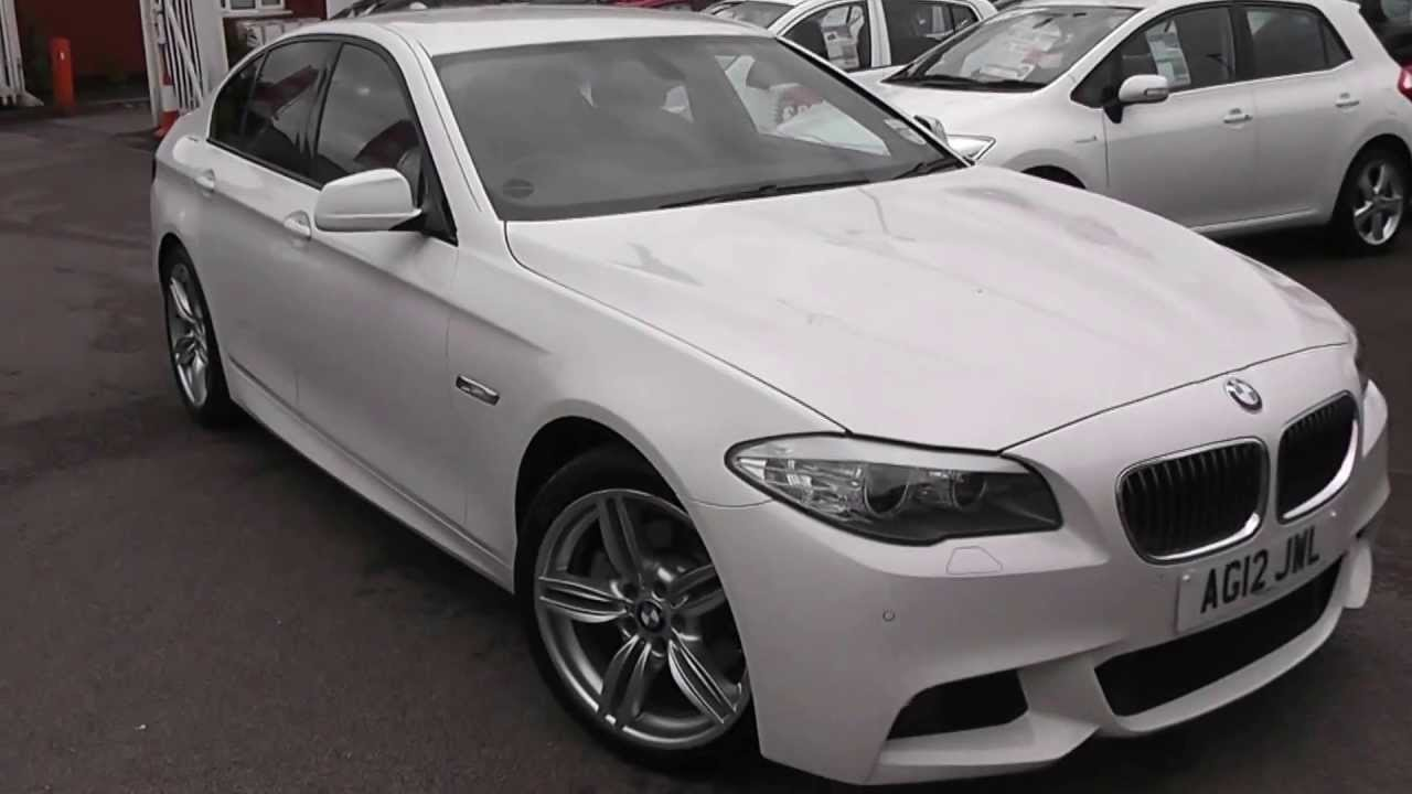 Latest Used Car Bmw 5 Series 520 M Sport White Ag12Jwl Free Download