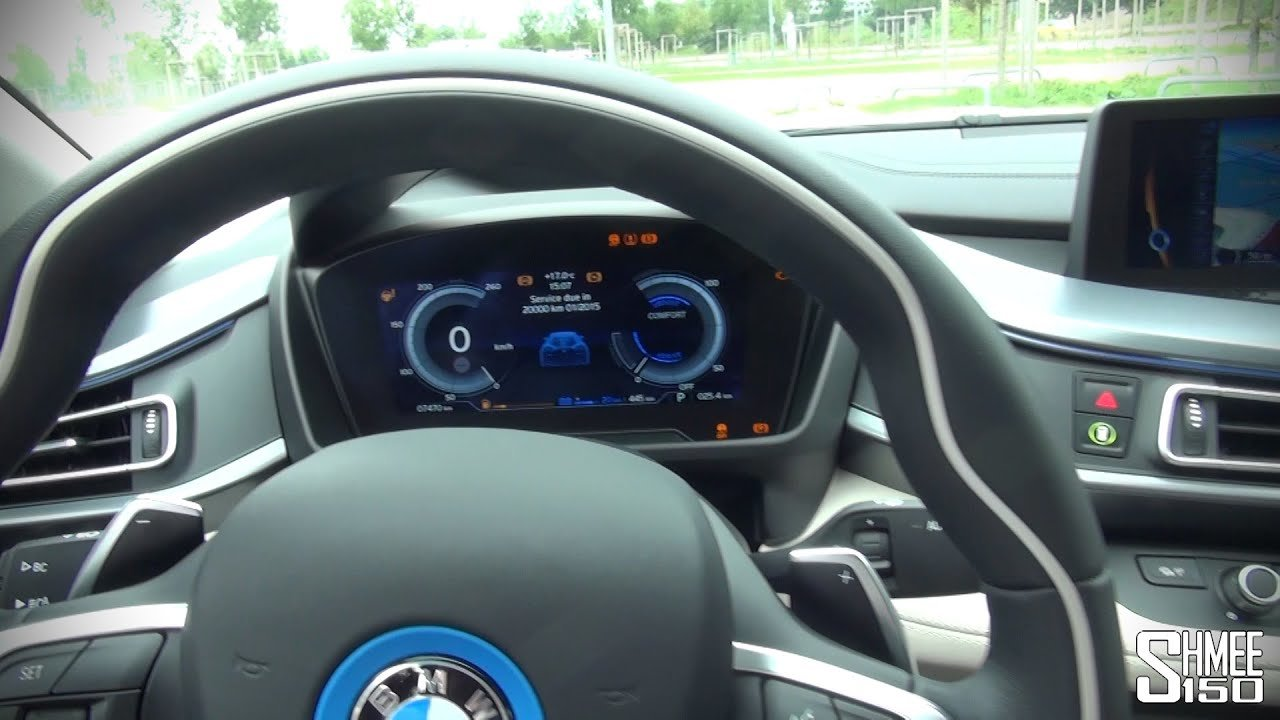 Latest Bmw I8 Interior And Displays Youtube Free Download