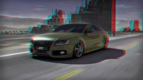 Latest Anaglyph 3D Audi S5 Abt 3D Car Configurator Intro Youtube Free Download