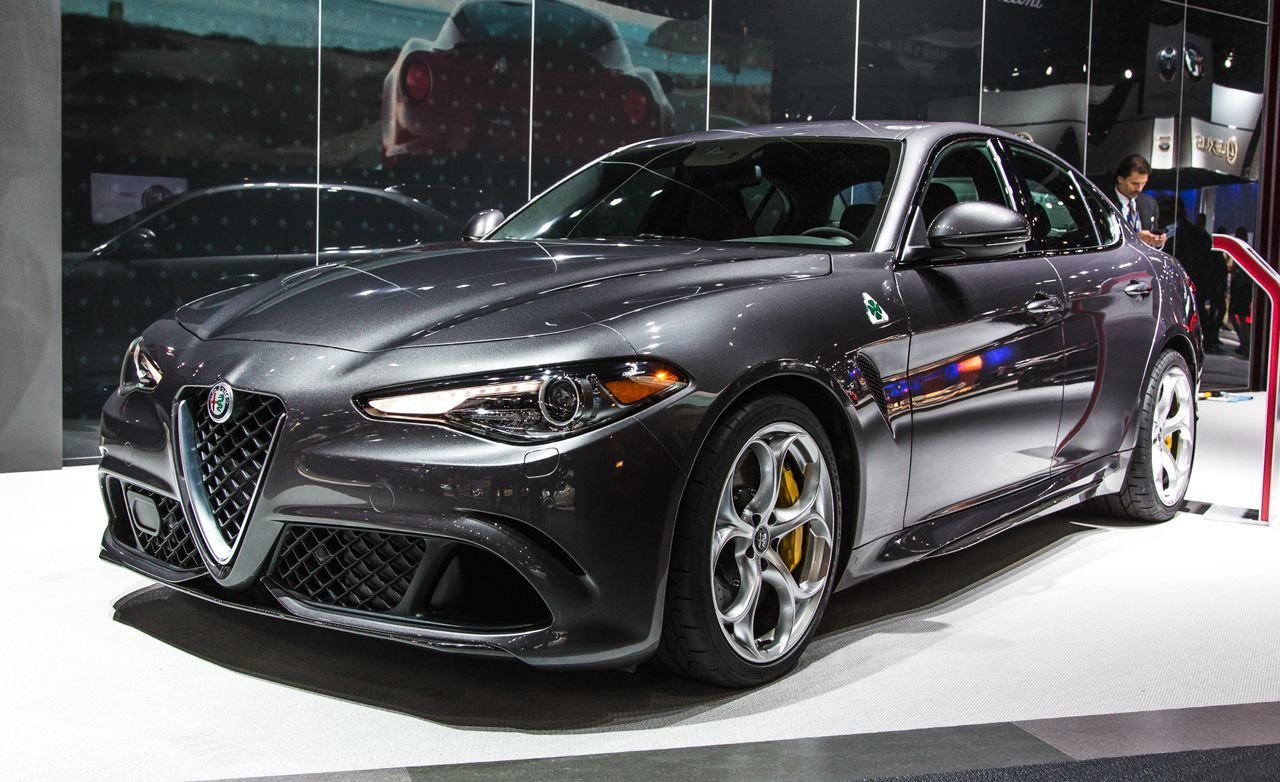 Latest U S Spec 2017 Alfa Romeo Giulia Quadrifoglio Photos And Free Download