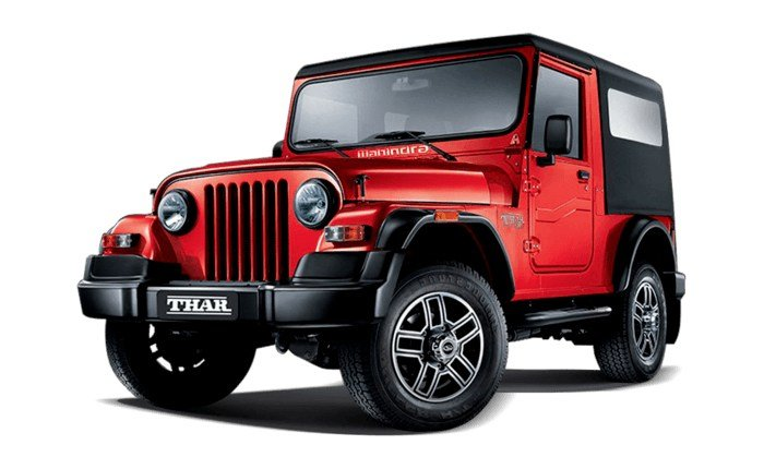 Latest Mahindra Thar Price In India Images Mileage Features Free Download