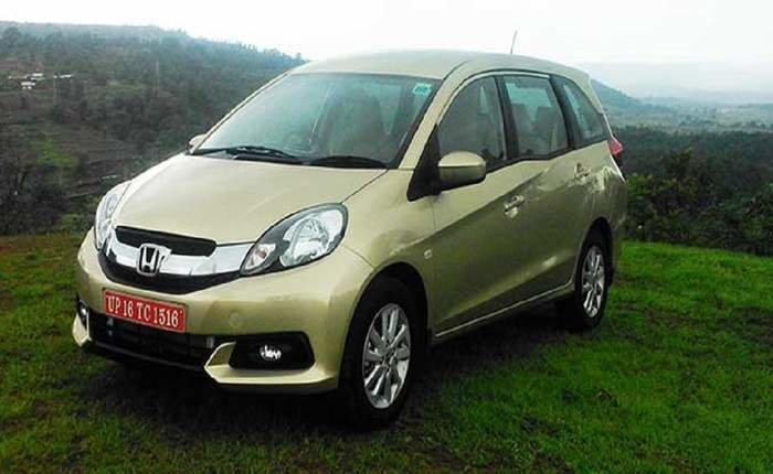Latest Honda Mobilio V Petrol Price Features Car Specifications Free Download