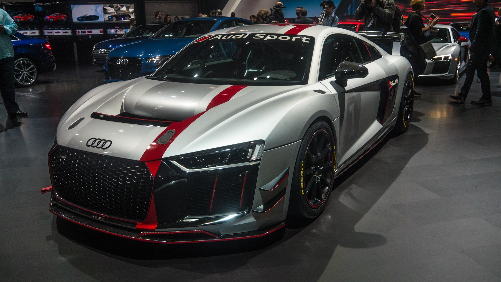 Latest Audi Sport S New Gt4 Race Car Was Star Of Its Ny Free Download