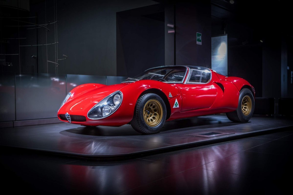 Latest Alfa Romeo 33 Stradale Turns 50 Is Still The Most Free Download