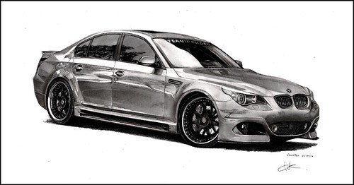 Latest Bmw M5 This Car Was Fun To Draw First Time Drawing Free Download