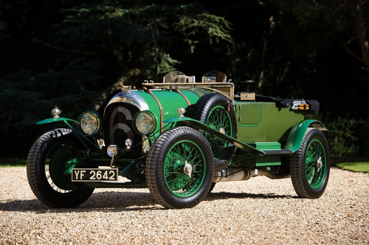 Latest Classic Car Photography – 1926 Bentley 3 4½ 'Le Mans Free Download