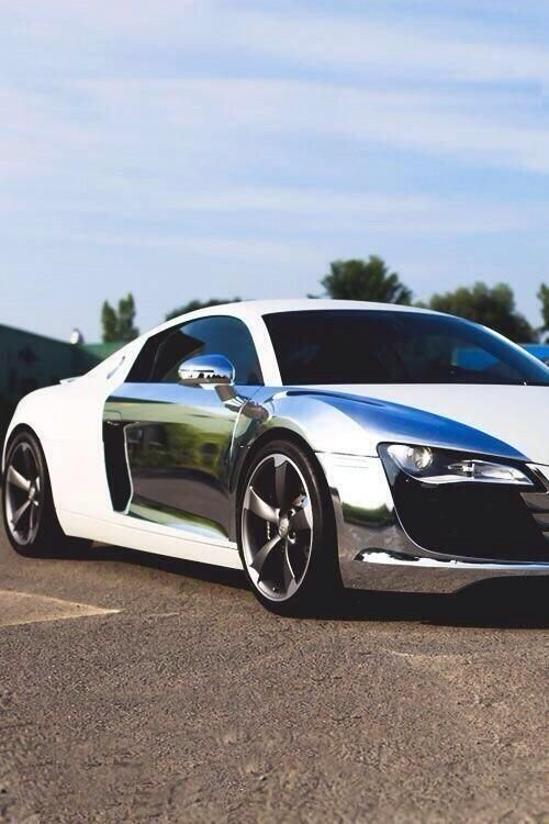 Latest Audi Car Review 2015 Nice Chrome Audi R8 By Http Free Download