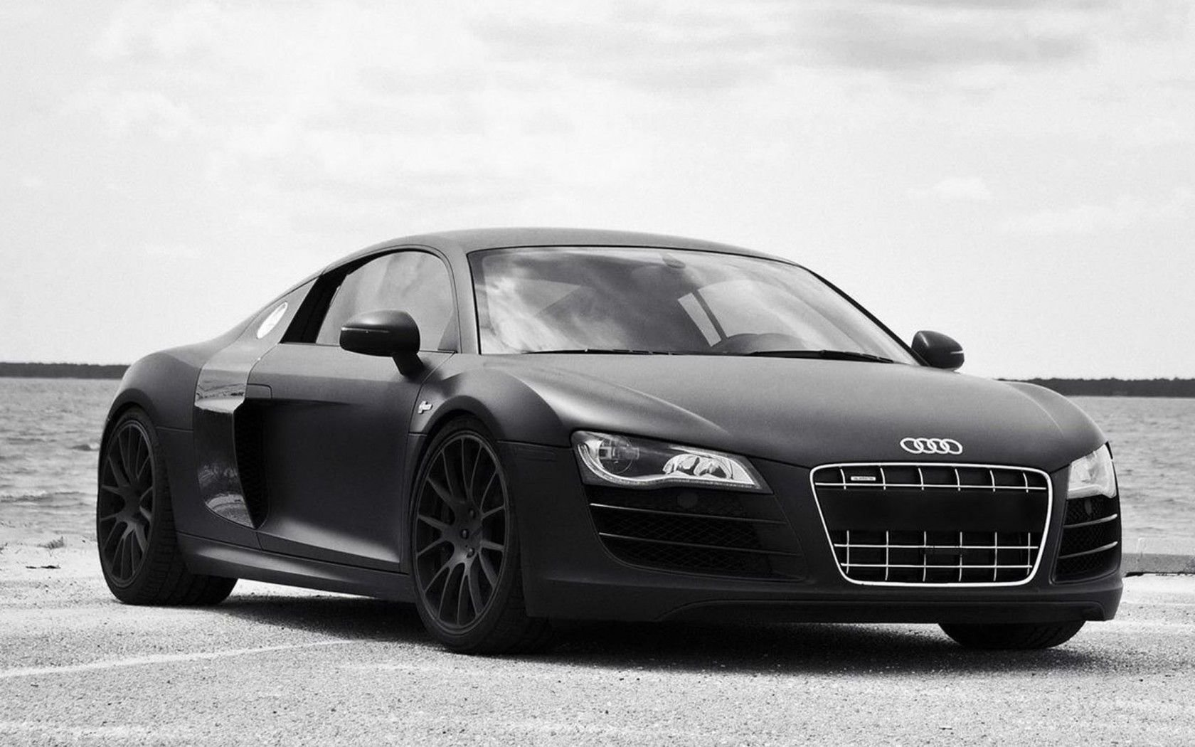Latest Audi R8 2016 Black Full Overview Picture Cars Free Download