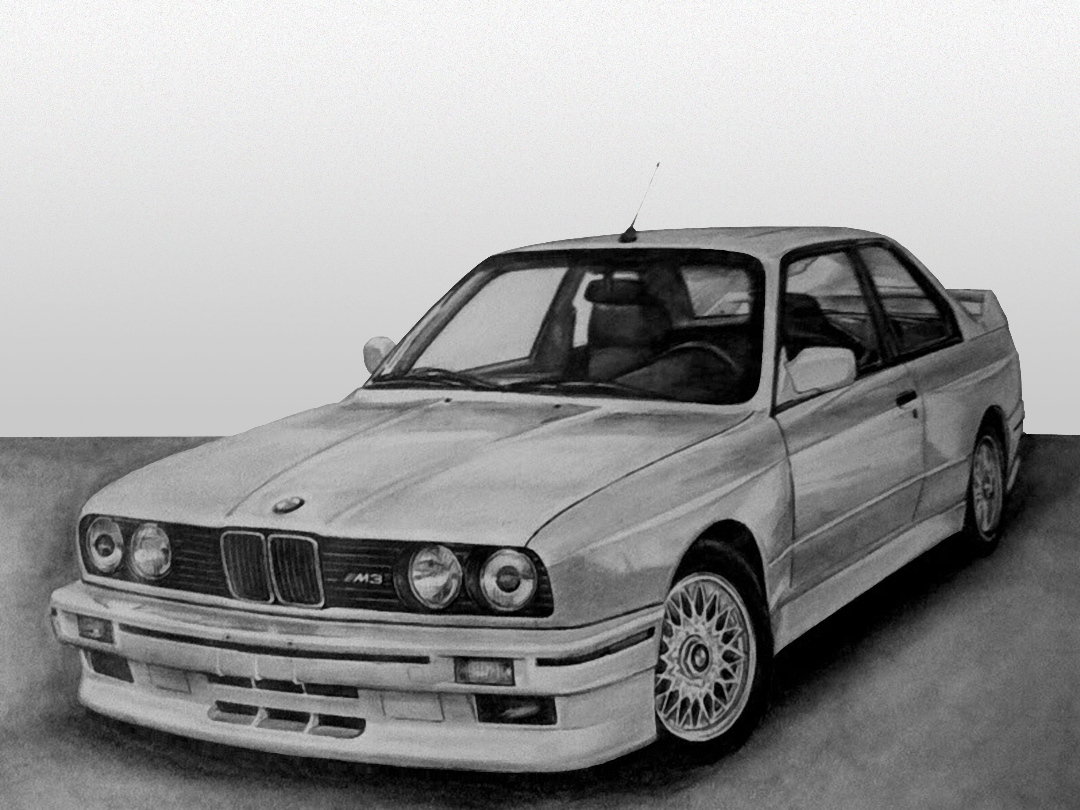 Latest E30 M3 Drawing Bmw Cars Pinterest E30 Bmw And Free Download