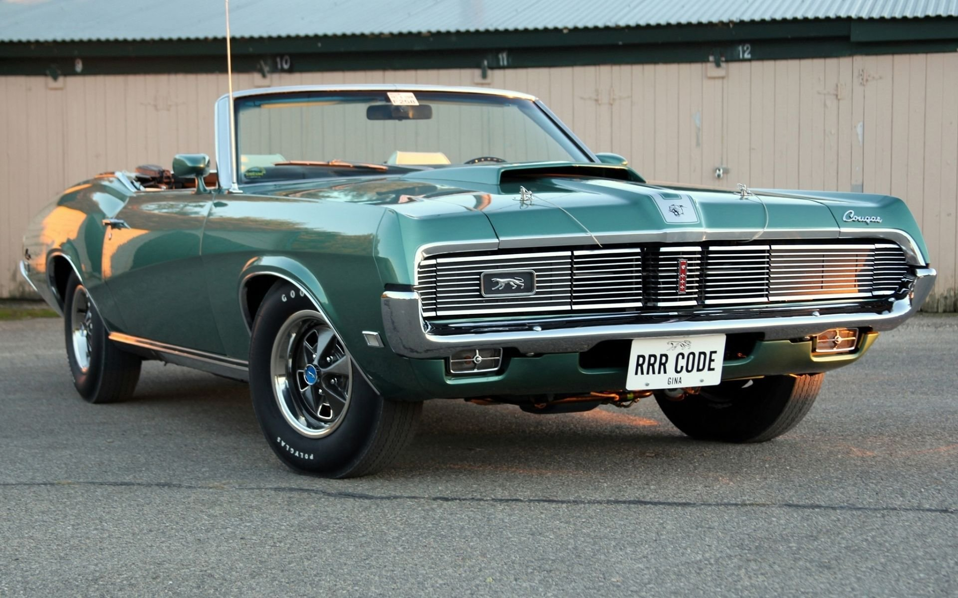 Latest Muscle Car Mercury Cougar Classic Wallpaper 1920X1200 Free Download