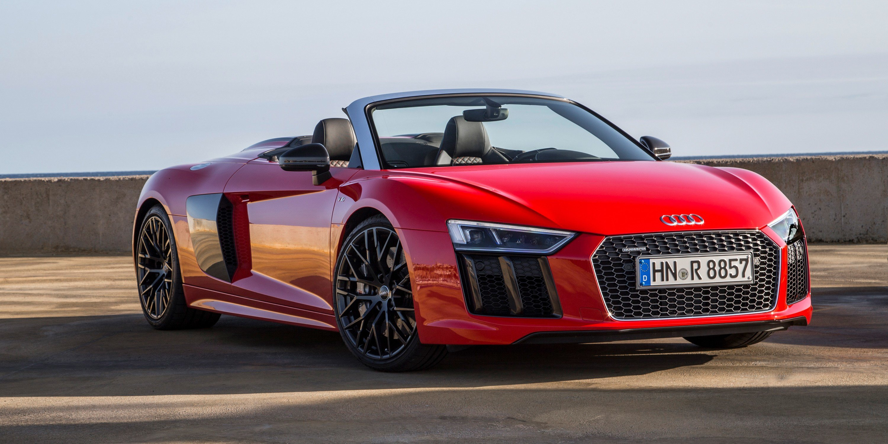Latest 2017 Audi R8 Spyder Pricing And Specs Lighter Stiffer Free Download