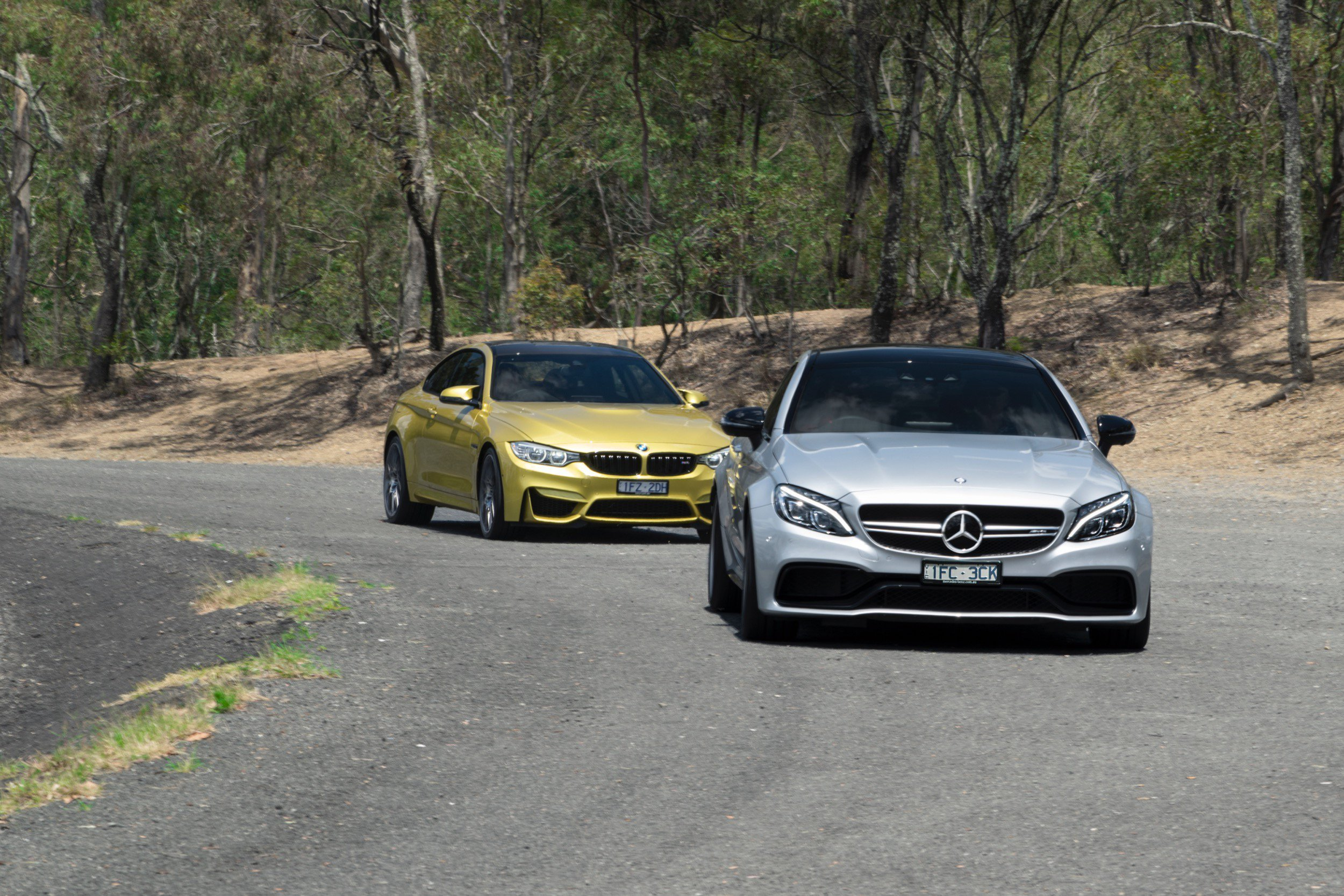 Latest Bmw M4 Competition V Mercedes Amg C63 S Coupe Road Free Download