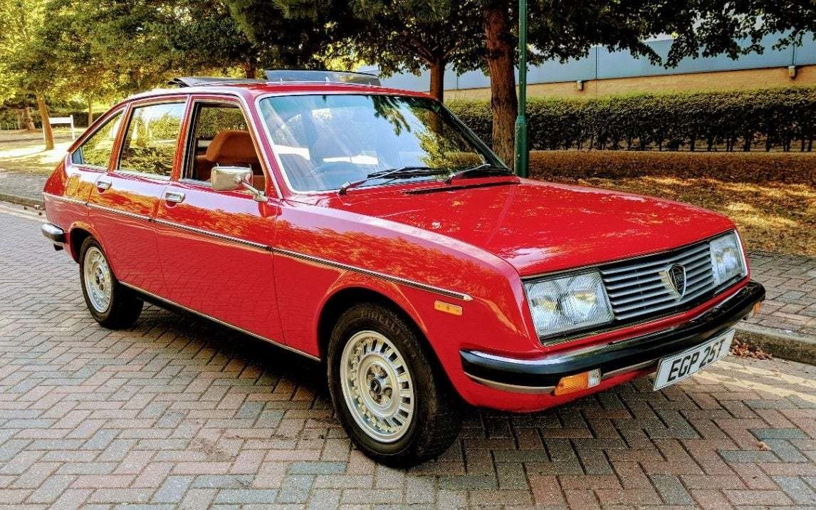 Latest Uk's Rarest Cars 1978 Lancia Beta 2000 Berlina One Of Fewer Than 15 Left Free Download
