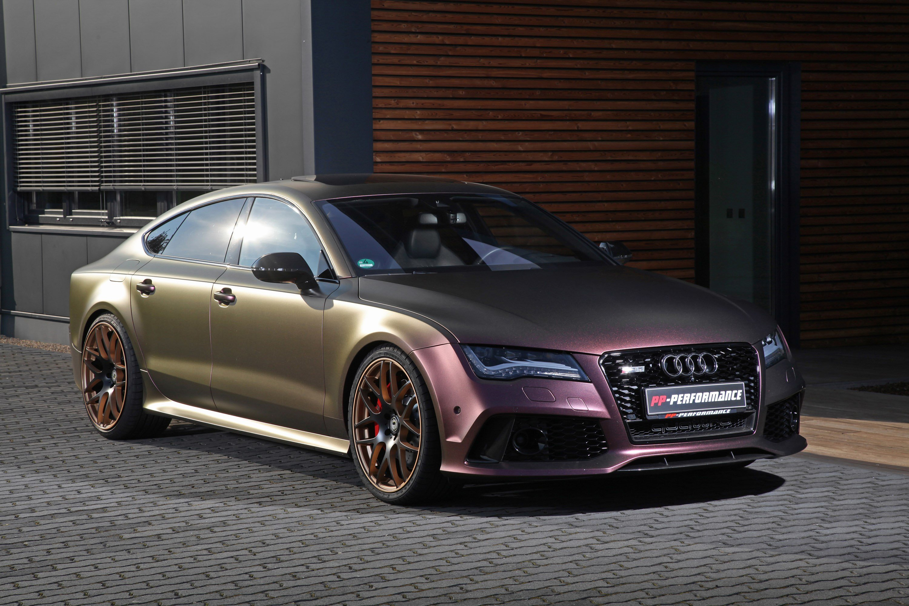 Latest Pp Performance Reveals A Special And Redesigned Audi Rs7 Free Download
