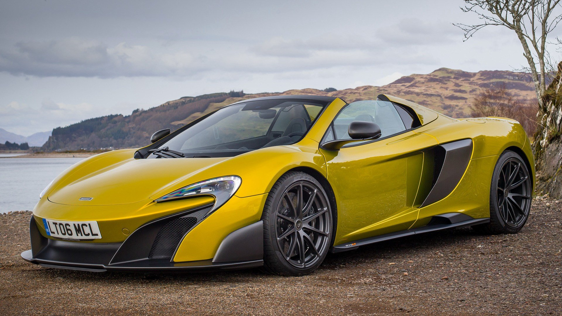 Latest 2016 Mclaren 675Lt Spider Wallpapers And Hd Images Car Free Download