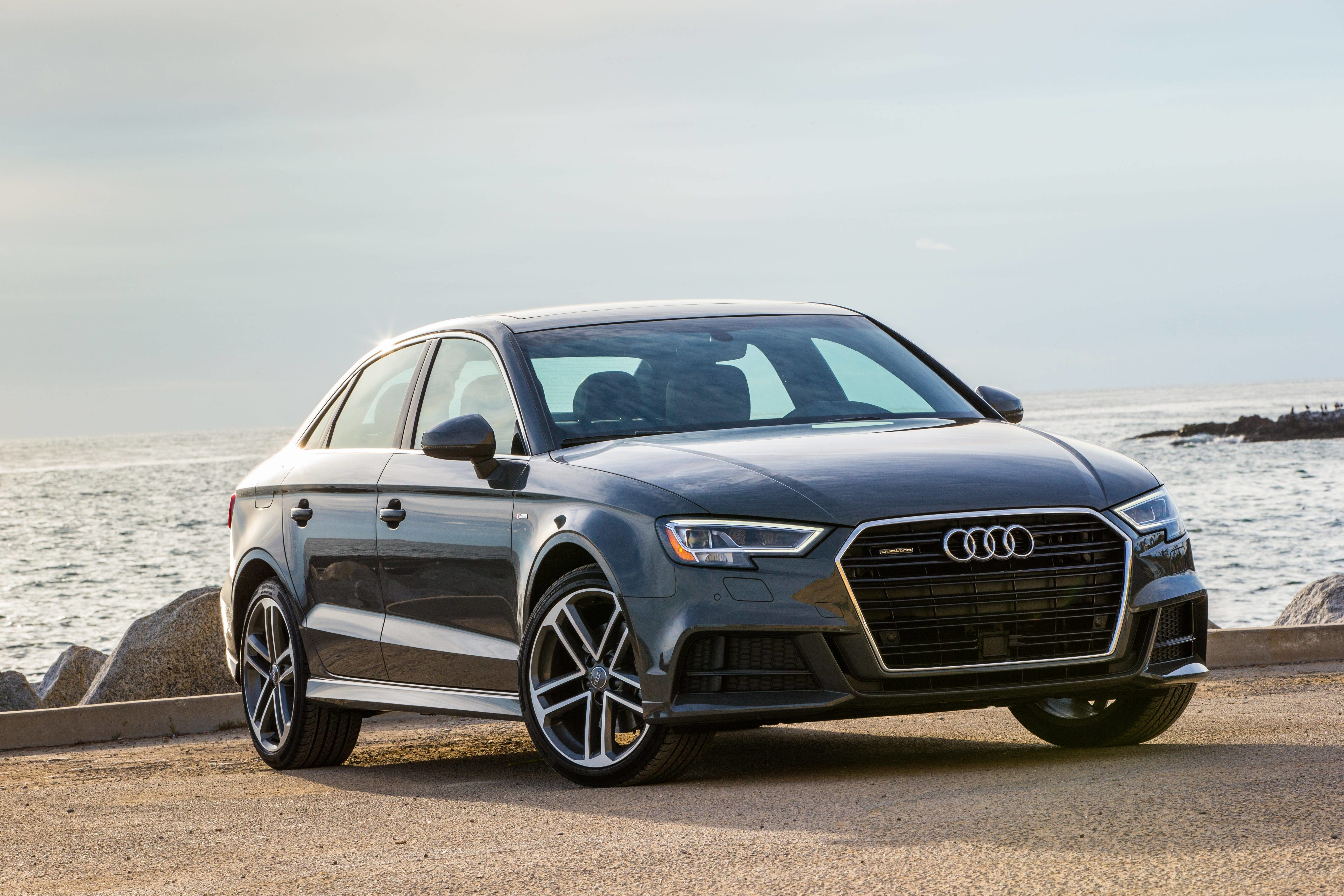 Latest Audi Luxury Car Shortage A3 A4 A5 Sedans Among Cars Free Download