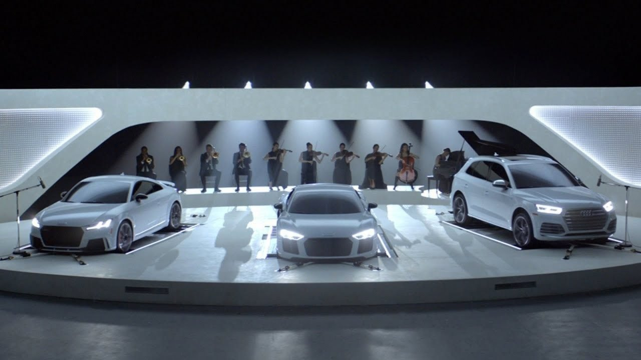 Latest Audi Makes Sweet Music As Its Cars Sing Famous Theme Songs Free Download