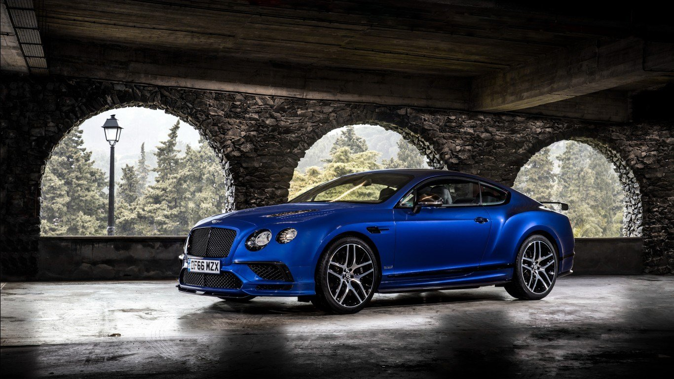 Latest Bentley Continental Supersports 2017 Wallpapers Hd Free Download