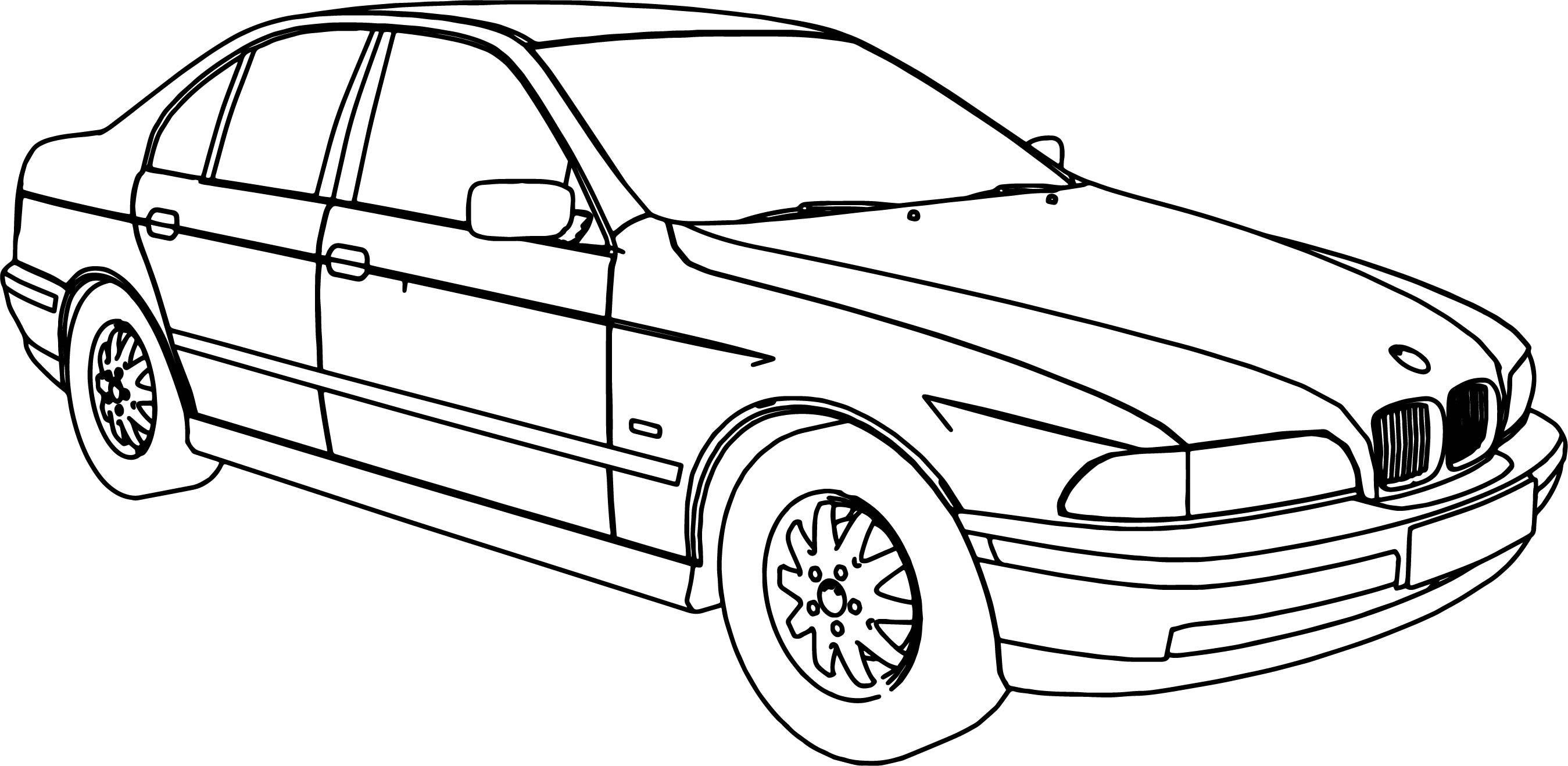 Latest Bmw 540 Model Car Coloring Page Wecoloringpage Com Free Download