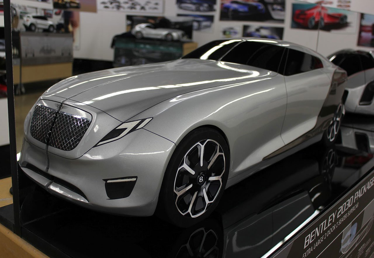 Latest 10 Bentley 2030 Concept Scale Model 05 Free Download