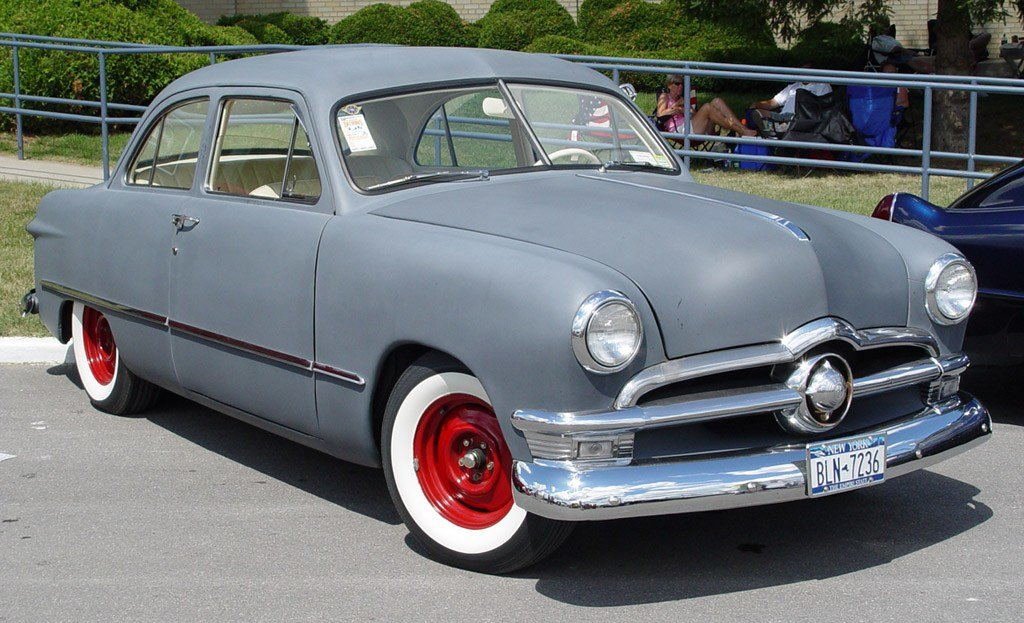Latest Tuning Cars And News 1950 Ford Retro Car Free Download