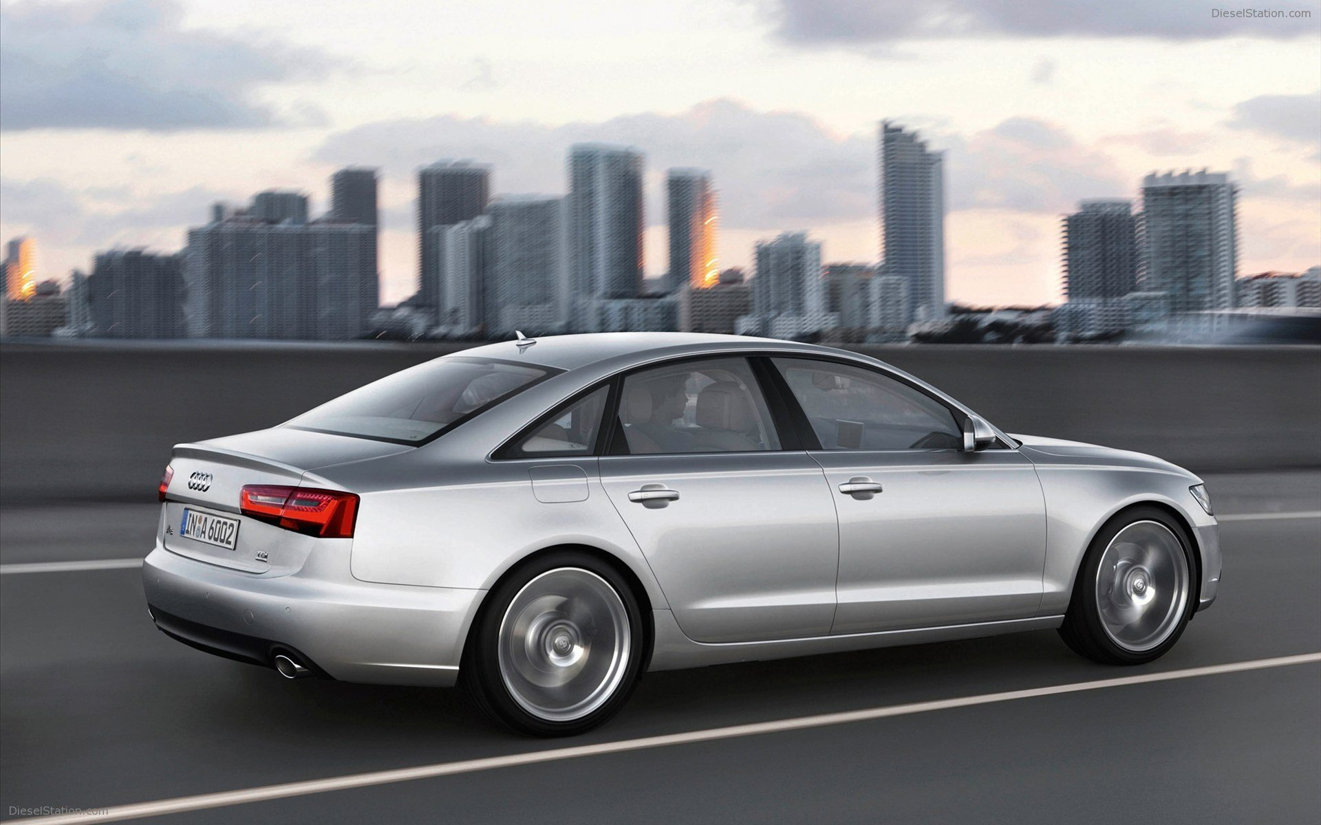 Latest Audi A6 2011 Widescreen Exotic Car Wallpaper 03 Of 10 Free Download