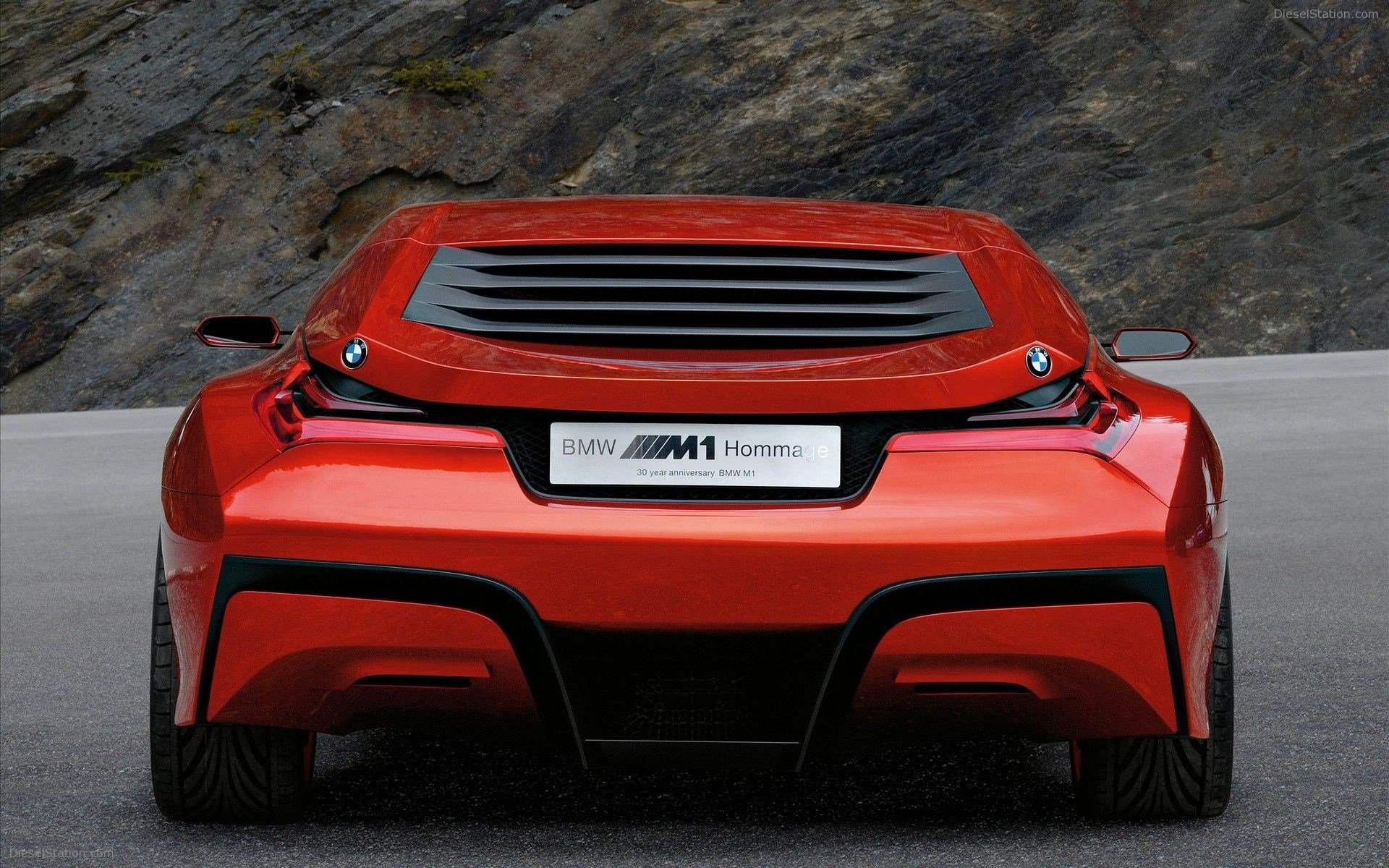 Latest Bmw M1 Homage Concept Car Widescreen Exotic Car Picture Free Download