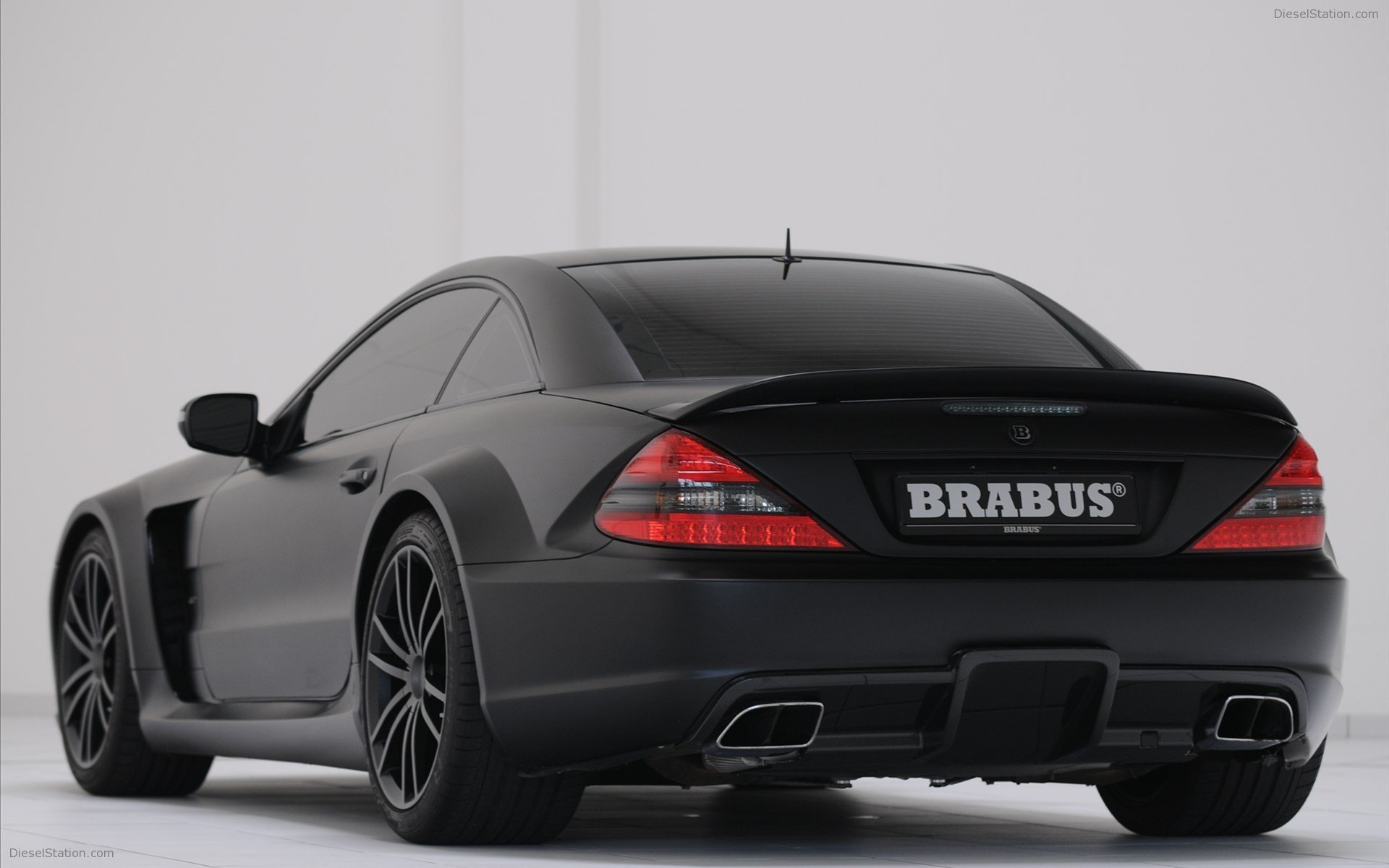 Latest Brabus Mercedes Benz Sl 65 Amg Black Series Widescreen Free Download Original 1024 x 768