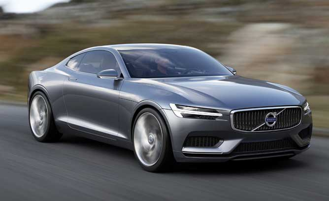 Latest The Hybrid Volvo Concept Coupé Hints At Entire New Lineup Free Download