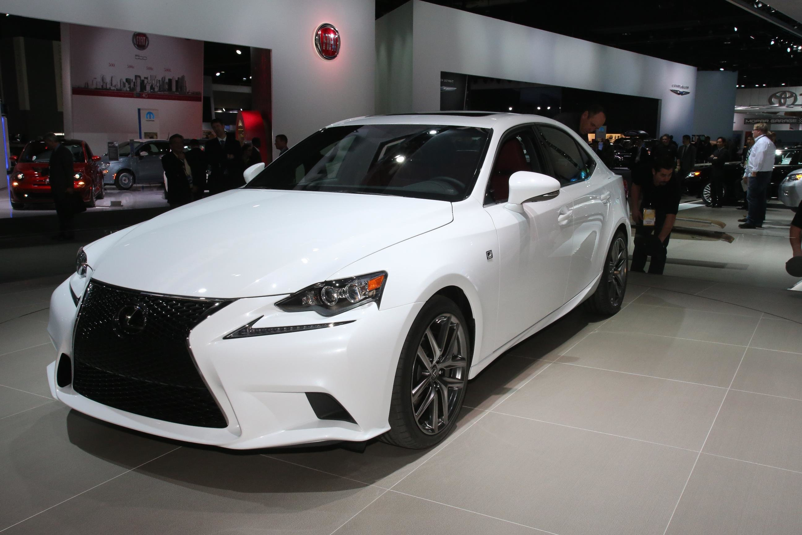 Latest 2014 Lexus Is Launched At Detroit Motor Show Free Download
