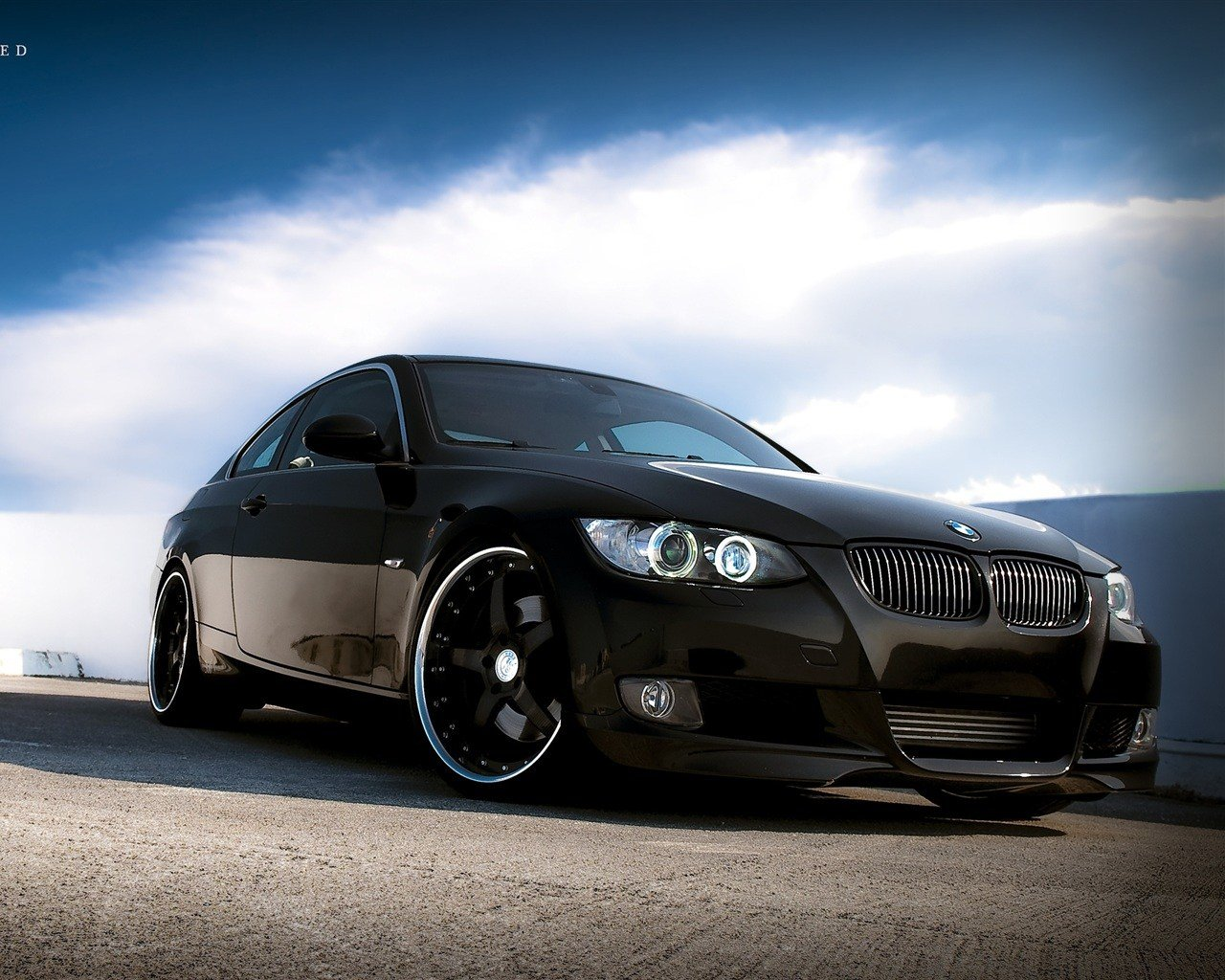 Latest Wallpaper Bmw Car Black Color 2560X1600 Hd Picture Image Free Download