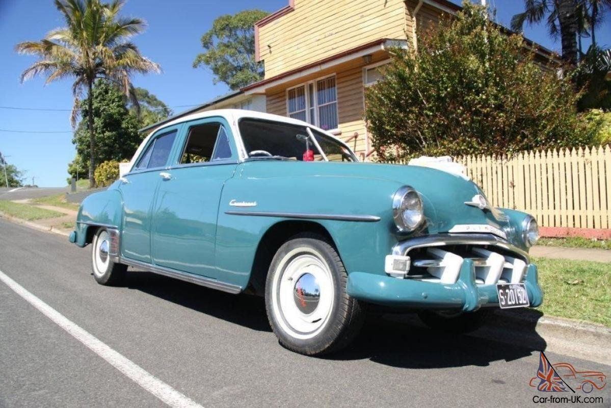 Latest 1952 Plymouth Cranbrook In Nambour Qld Free Download