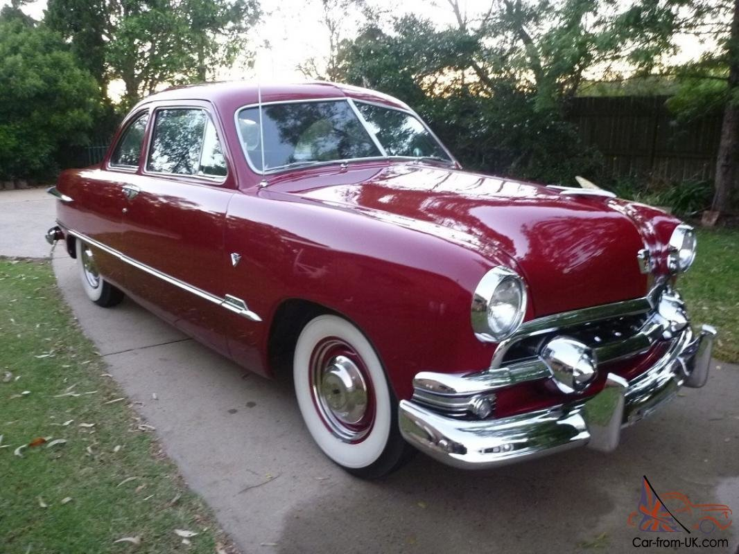 Latest 1951 Ford Club Coupe Free Download Original 1024 x 768