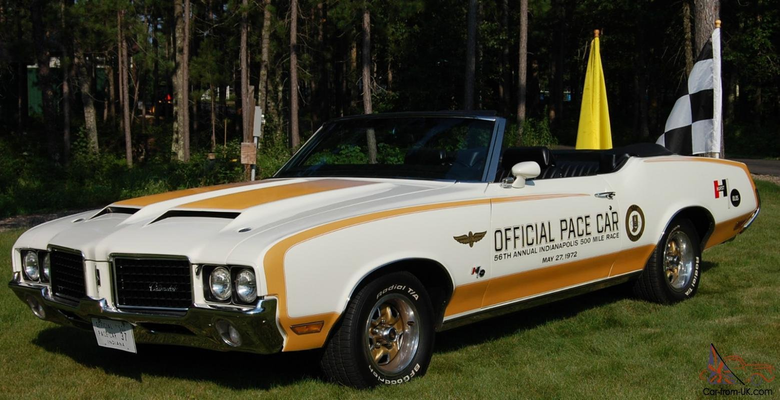 Latest 1972 Hurst Olds W 45 Pace Car Convertible Free Download