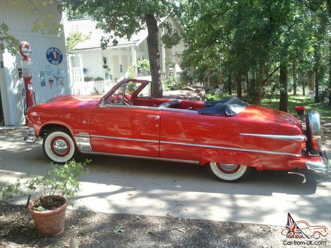 Latest 1951 Ford Convertible Free Download