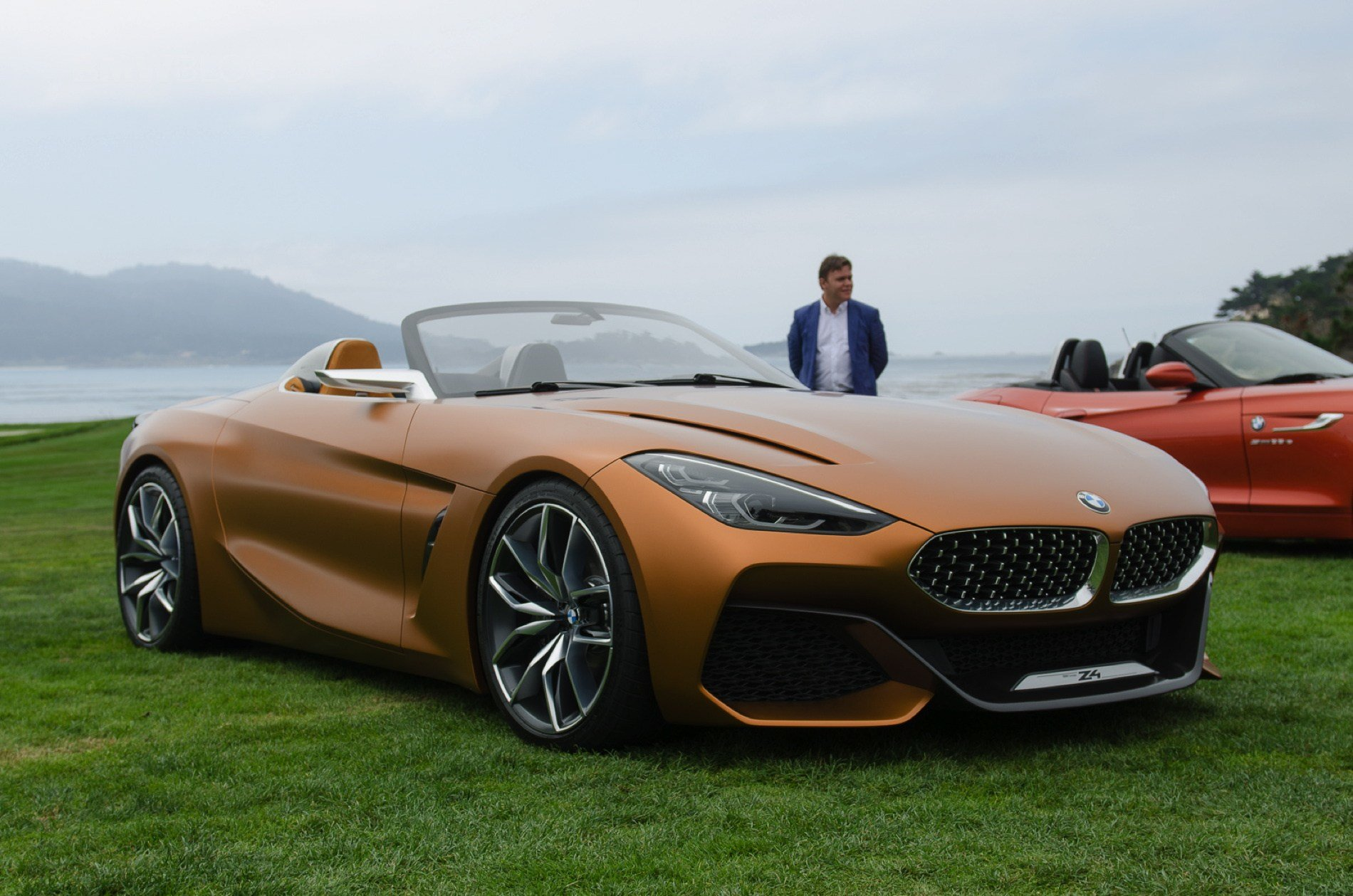 Latest First Live Photos Of Bmw Concept Z4 At Pebble Beach Free Download Original 1024 x 768