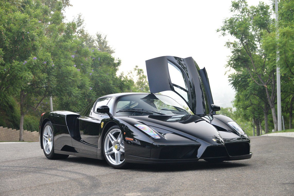 Latest Black Ferrari Enzo For Sale In The Us At 3 400 000 Gtspirit Free Download