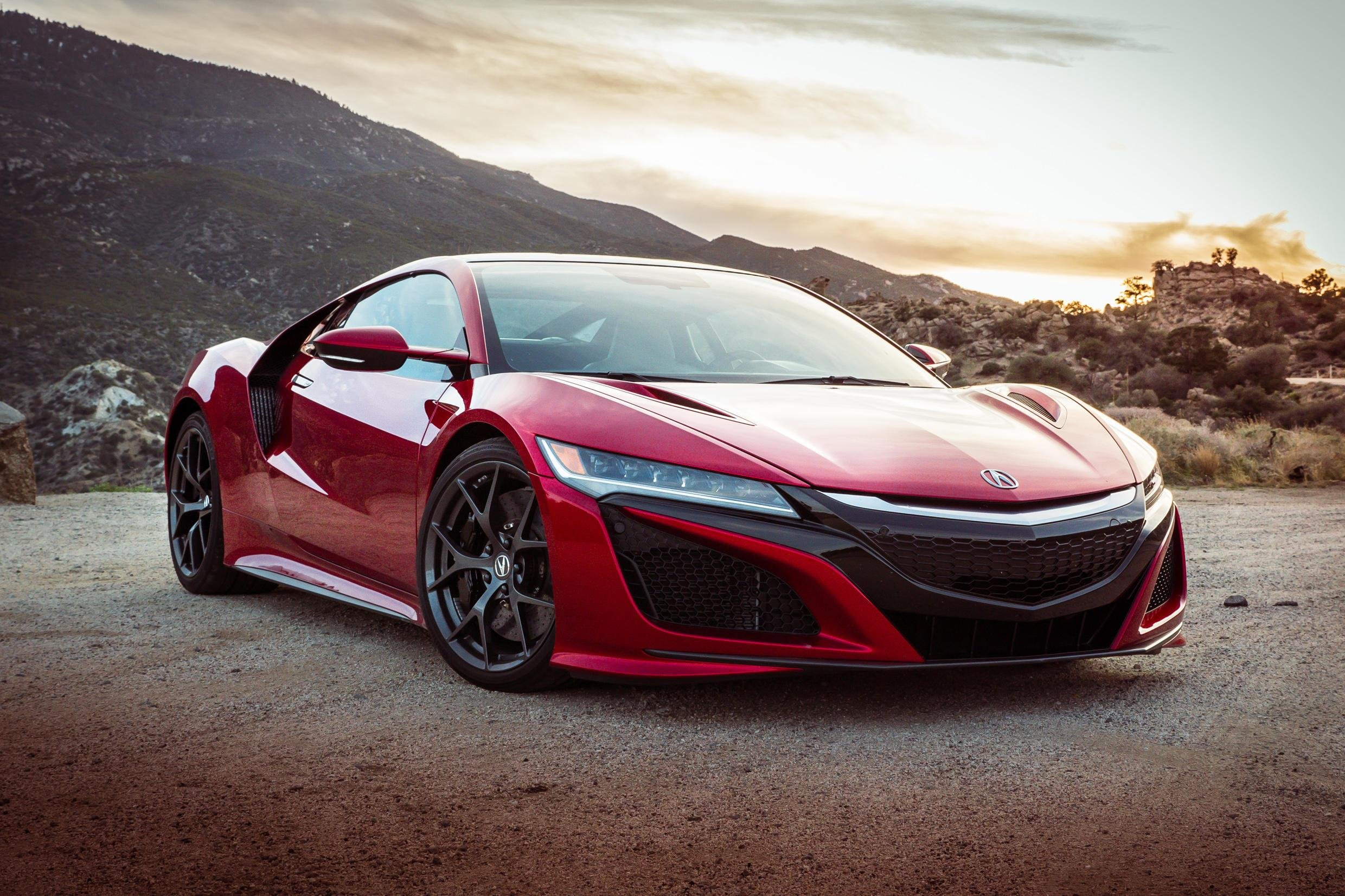 Latest 2017 Acura Nsx Hd Cars 4K Wallpapers Images Free Download