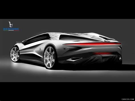 Latest 2012 Bertone Nuccio Design Sketch Wallpaper 11 Free Download